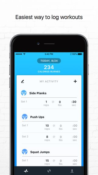 Personal Trainer by Track My Fitness: Home Workout Routines & Exercise Program by Vimo Labs Inc.