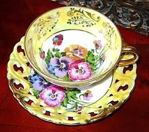 purple tea cups and saucers - AOL Image Search Results