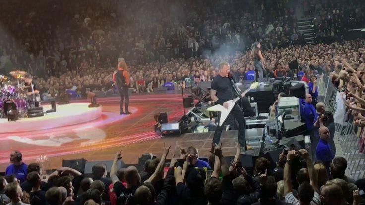 Battery - Metallica live in Copenhagen 2017 - World Wired Tour 2017 - Co...