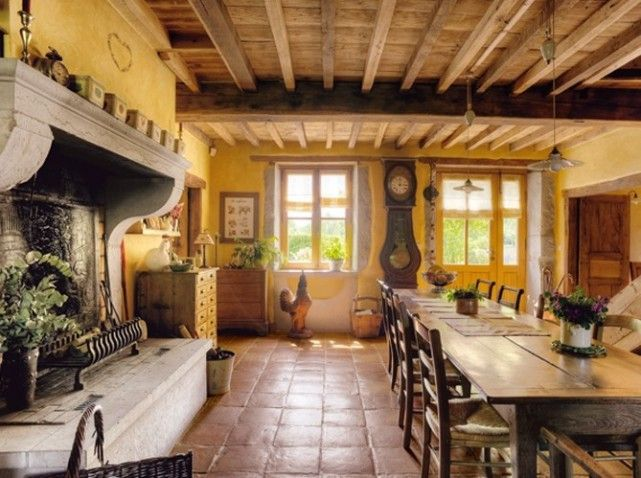 Best French Provençale Images On Pinterest French Country - Cozy wooden country house design with interior in colors of provence
