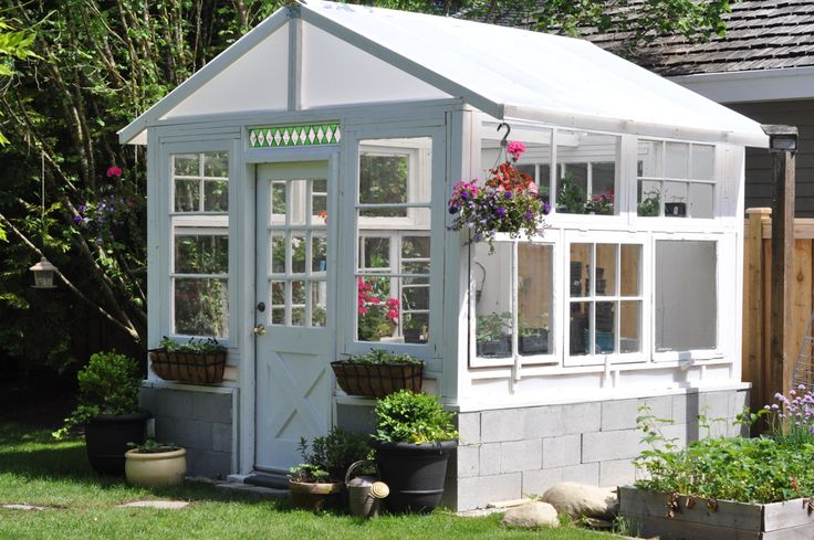 The Greenhouse Project- How To Build A Greenhouse From Vintage Windows-11