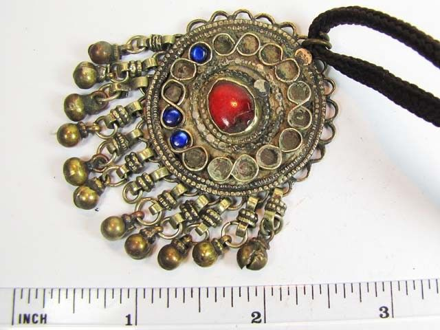 TRADITIONAL TIBETAN SILVER NECKLACE  94  CTS TR 851  FASHION ACCESSORY FROM JEWELERY-AUCTIONED.COM
