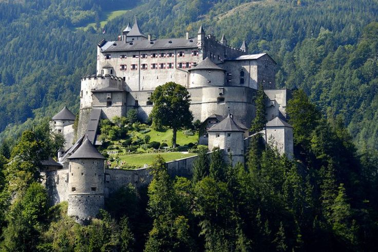 Hohenwerfen Castle, Bischopshofen, Austria   Castles ...
