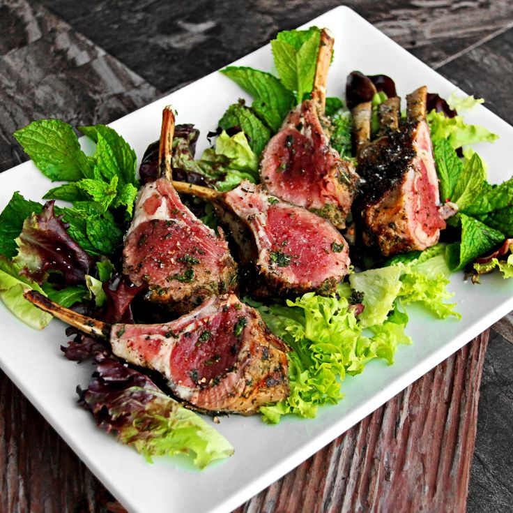 These Rosemary-Mint Lamb Chops features a flavor punch with a unique combination of herbs. Just a few steps and you'll be enjoying the sizzle of summer!