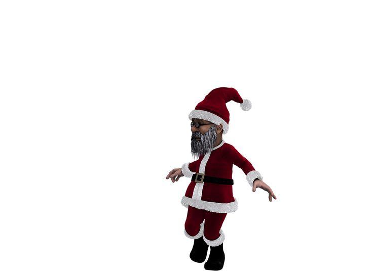 kostenloses bild auf pixabay - weihnachtsmann, weihnachten