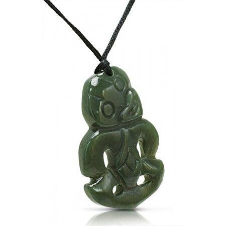 New Zealand Pounamu Jewellery - Greenstone Tiki #Pounamu #NZ #jewellery