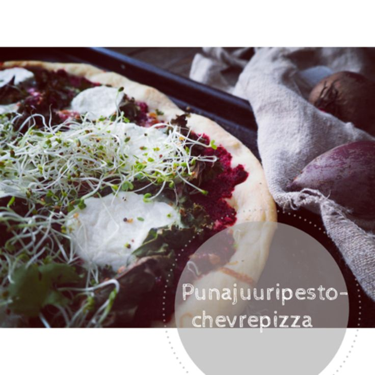 KT's Way: [ Punajuuripesto & Chevre pizza, sekä kaakao avoca...