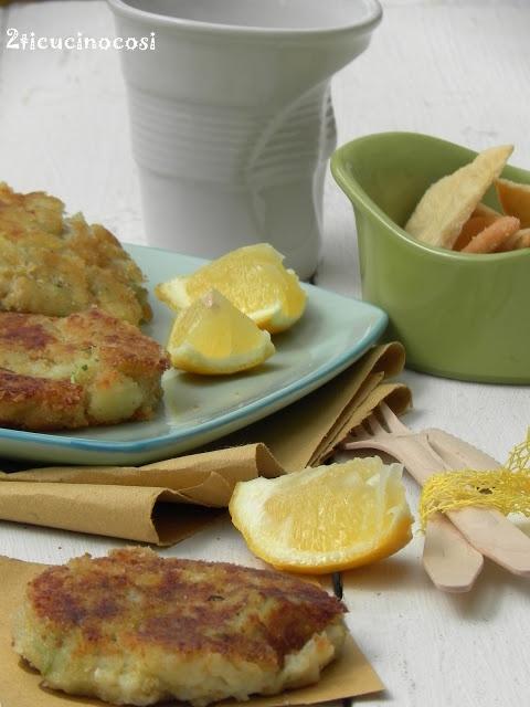 Frittini di patate e merluzzo