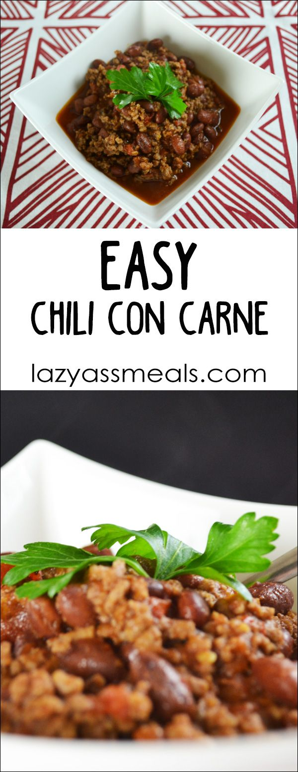Easy Chilli Con Carne: How to Make Easy Chilli