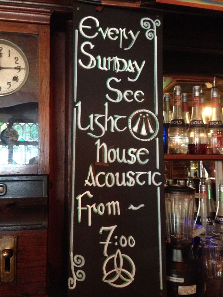 Yet another celtic sign I did for an amazing band I get to play with every Sunday in the Bloody stream pub in Howth of Dublin