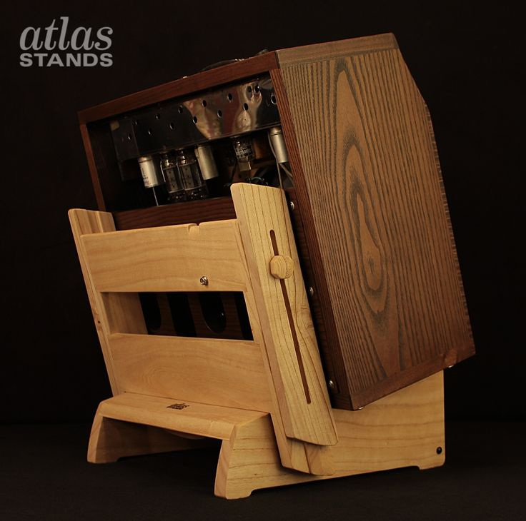 Atlas Amp Stand Low Rider Design With Backrest