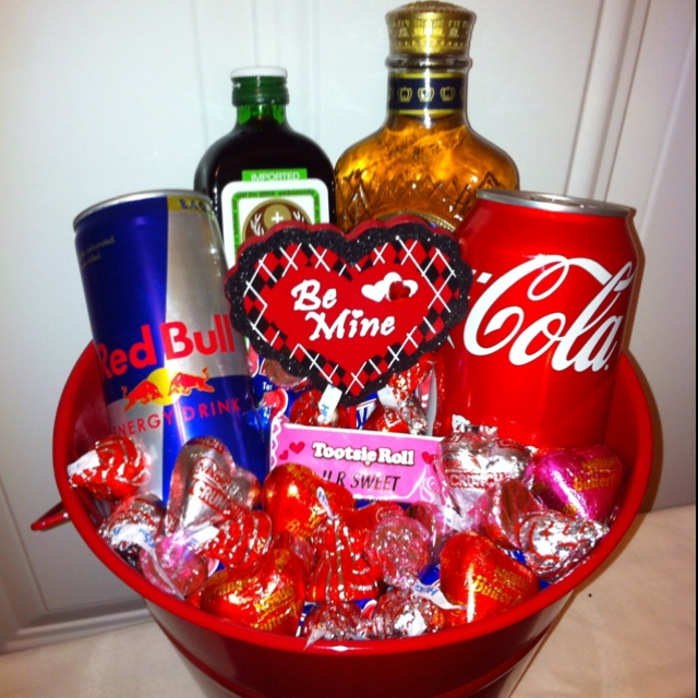 Man Cave Valentines Gift : Best images about valentine s day basket ideas on