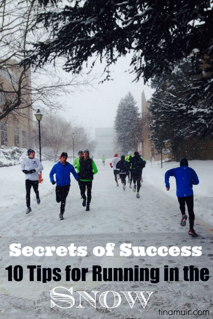 Elite Secrets of Success- Running in the Snow | Fuel Your Future with Tina Muir