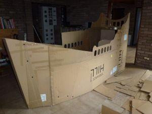 Cardboard Pirate Ship