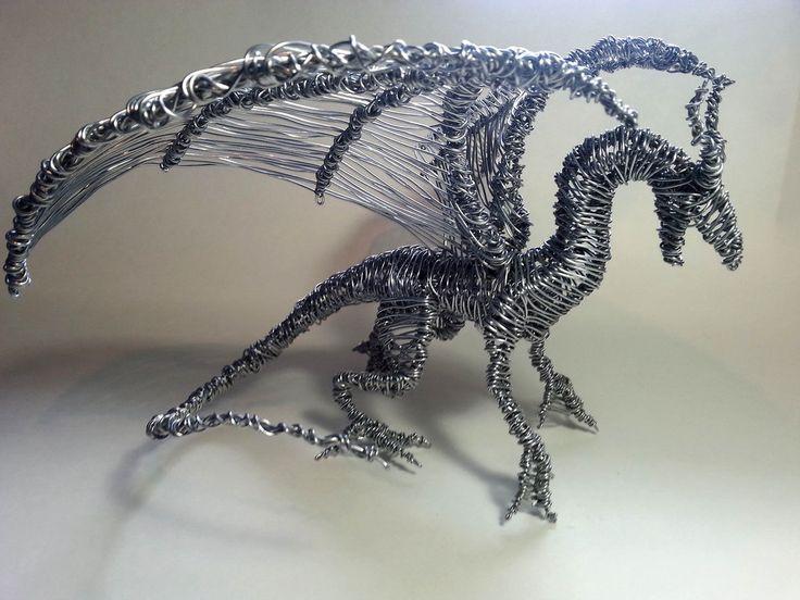 Wire Dragon #5 by Mike-Perrotta.deviantart.com on @DeviantArt