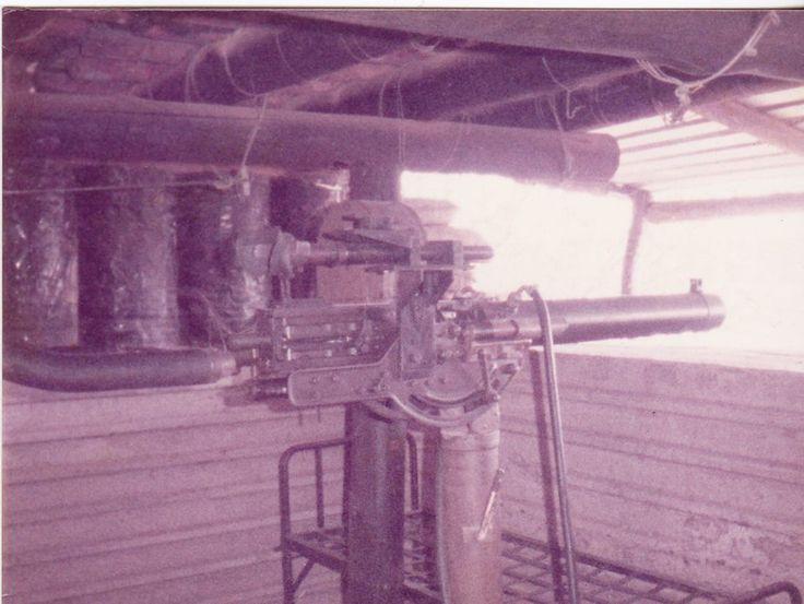 Old Vicker at Katima Mulilo