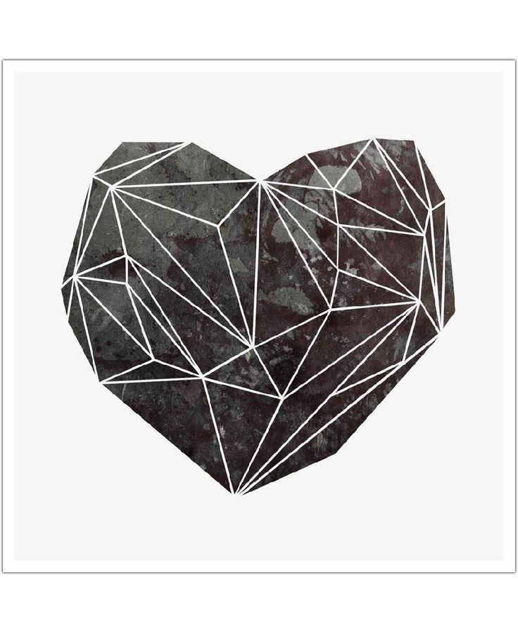 Heart Graphic 4 of Mareike Böhmer now on JUNIQE!