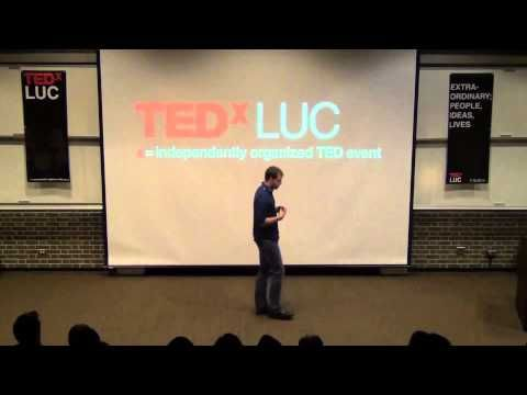 Cold Shower Therapy: Joel Runyon at TEDxLUC - YouTube
