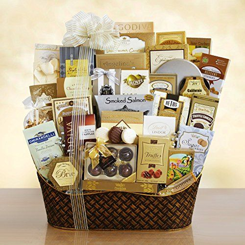 24 best basket ideas images on pinterest basket ideas gift dreaming of a white christmas ultimate gourmet gift basket httpfivedollarmarket negle Images