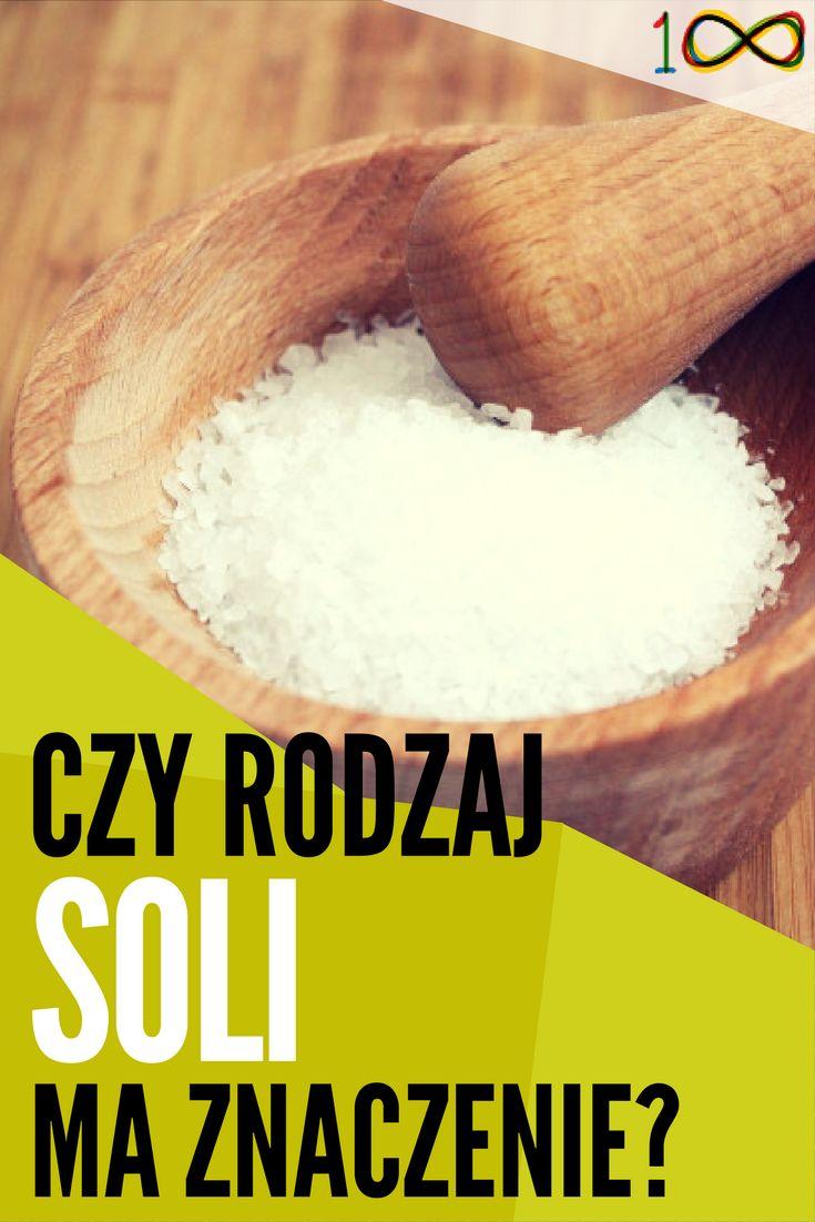 Mamy na rynku dostępnych wiele rodzajów soli. Jednak nie każda sól soli równa.