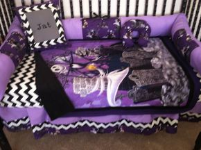 Nightmare Before Christmas baby bedding - no bumpers -free pillow in Baby, Nursery Bedding, Nursery Bedding Sets | eBay