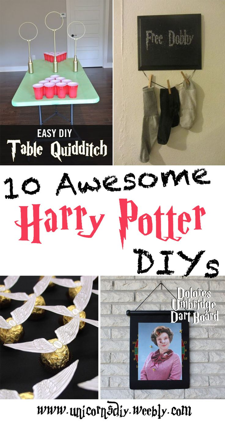 72 best diy harry potter images on pinterest harry potter stuff 10 awesome harry potter diys check it out at unicornsdiy diy solutioingenieria Choice Image