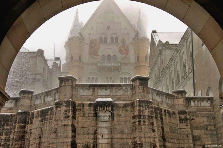 Бавария. Замок Нойшванштайн. Первая встреча