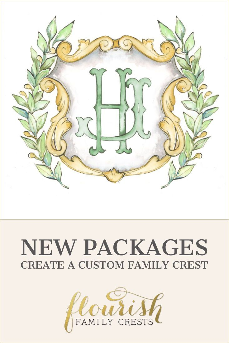 Vintage Themed Custom Monogram