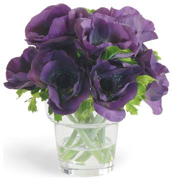 Purple Flowers In A Vase New House Designs