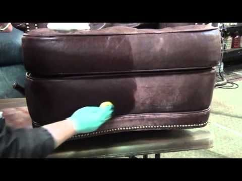 dying a aline leather - Leather Sofa Repair