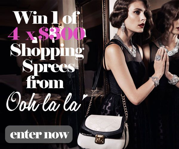 WIN: Win one of 4 x $300 Oohlala shopping sprees - dropdeadgorgeousdaily.com