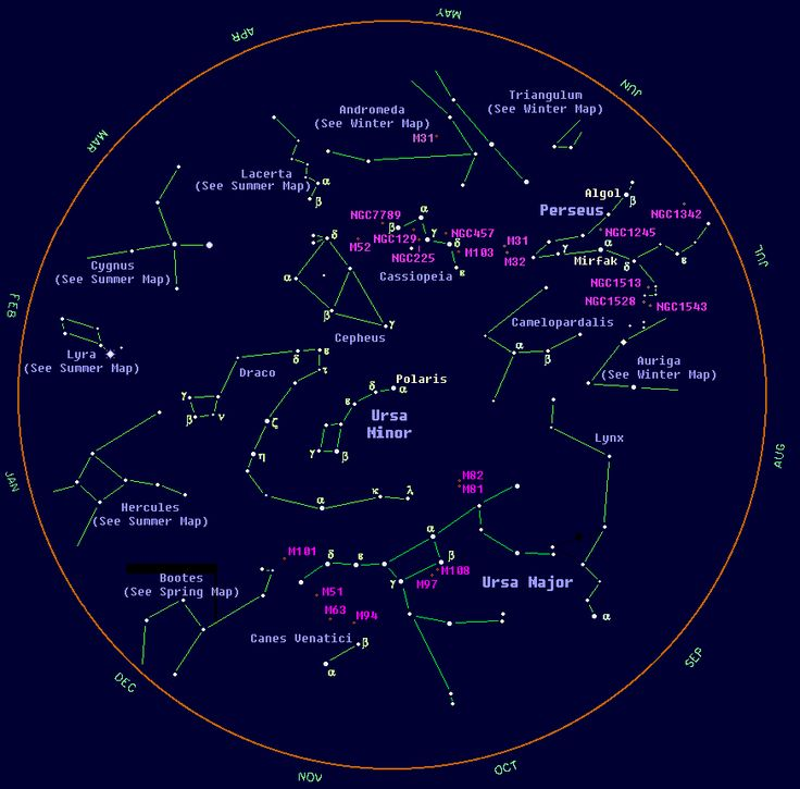 constellation chart for star card project | Homeschool ...