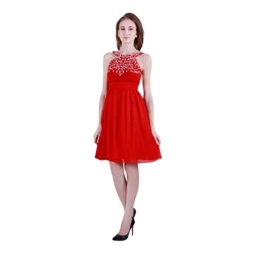 Chiffon dress with diamantes,  you can have this dress in any colour you like