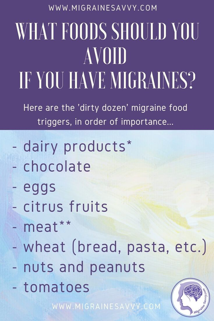 Migraine Elimination Diet: How Can I Do A Simple One?Carol Pantoja