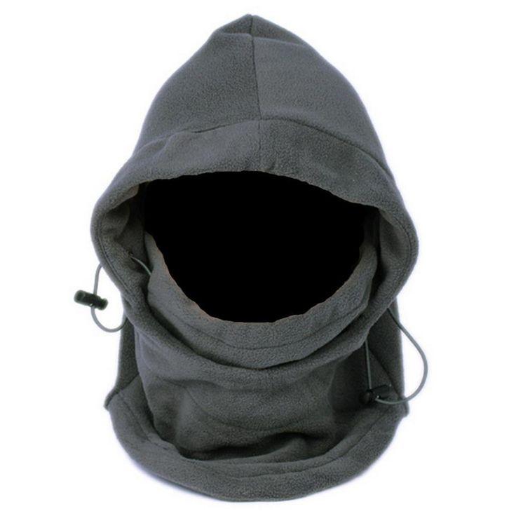 Onetigris mùa đông ngoài trời thể thao ấm fleece balaclava hood cổ hâm nóng mặt nạ cho du lịch cắm trại