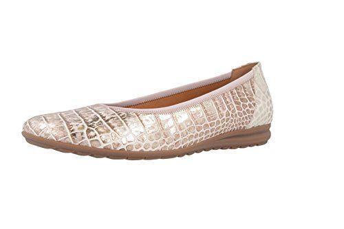 GABOR comfort - Damen Ballerinas - Rosa Schuhe in Übergrößen, Größe:44.5 - http://on-line-kaufen.de/gabor/44-5-eu-gabor-damen-ballerinas-5