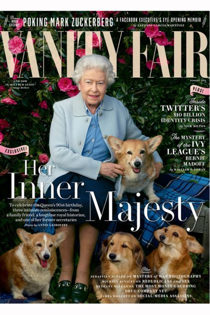 Елизавета II стала лицом обложки глянцевого журнала | Marie Claire
