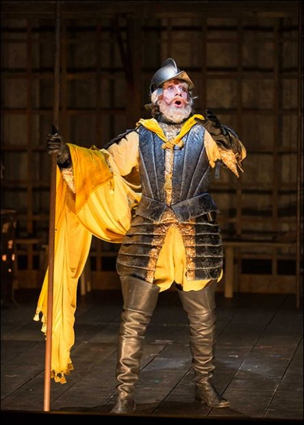 Anthony Warlow as Don Quixote in Man of La Mancha | Photo by Scott Suchman