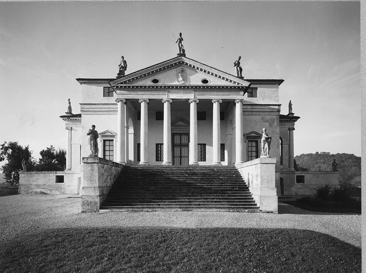 Palladio's Villa Rotunda is a beautiful renaissance, not to mention one of the best examples of symmetrical design and composition to be found.
