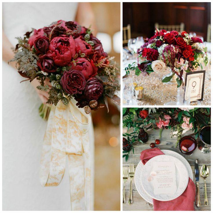 elegant-marsala-wedding-inspiraton