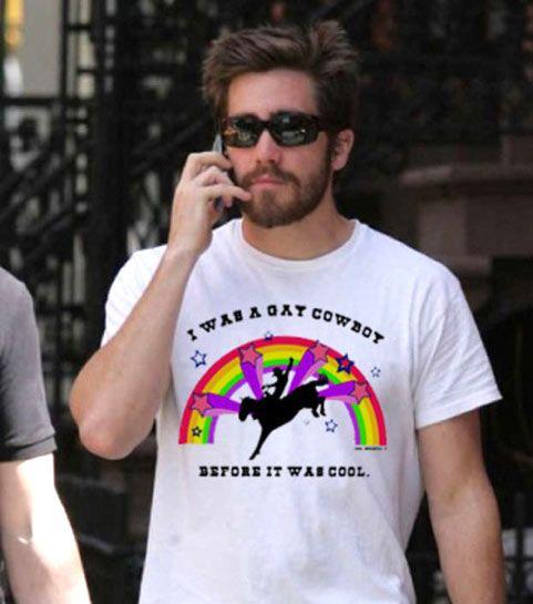 Jake-gyllenhaal #gay cowboy shirt #LOL