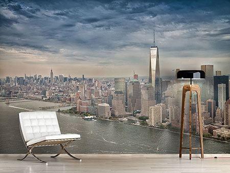 Fotomural Horizonte de Manhattan