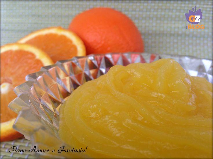 Crema all'arancia senza uova - ricetta base
