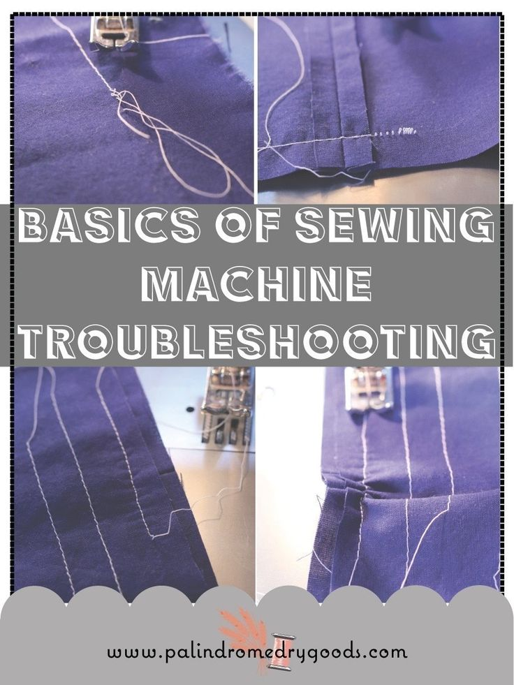 Learn 3 basic fixes to common sewing machine problems.