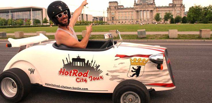 Mini Hot Rod Berlin Sightseeing Tour