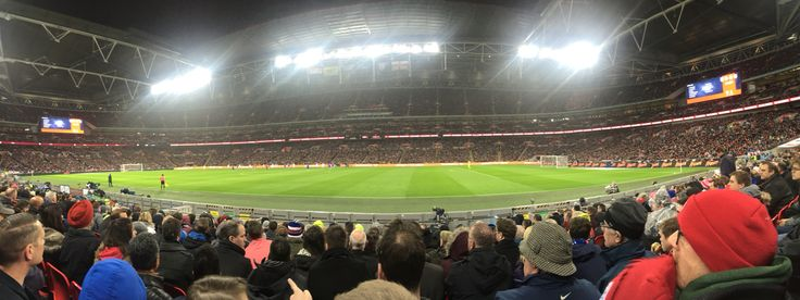 England v Holland  - Wembley Stadium