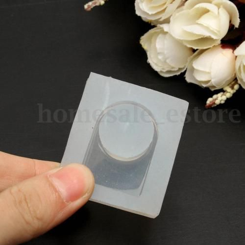 Women' Clear Silicone Molds For Making Jewelry Rings DIY Mold 3D Resin Casting