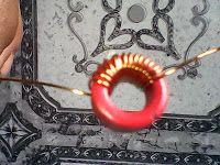 Cara membuat lilitan induktor coil utk joule thief