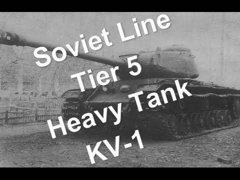 (World of Tanks) - Soviet Line - Tier 5 heavy tank - KV-1 Slideshow