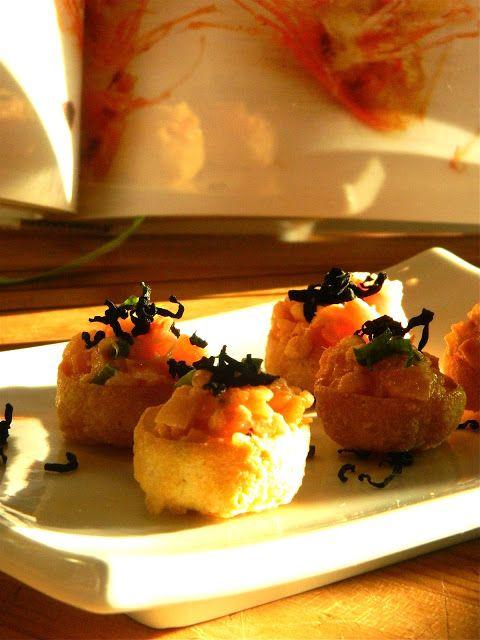 Madame Anne aux fourneaux: Tartare de saumon Miki's style
